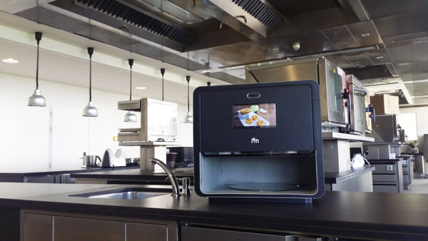Foodini in professional kitchen (Credit: Natural Machines)