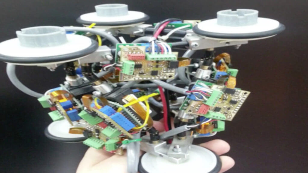 Prototype Pipe Robot (University of Leeds)