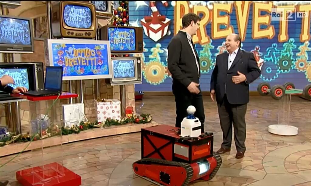 ROVINA Robot on Italian National TV